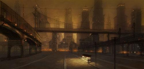 View of Republic City -