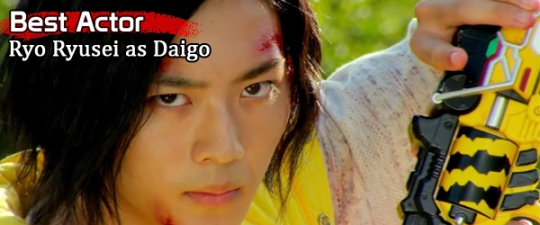 Best Actor - Ryo Ryusei