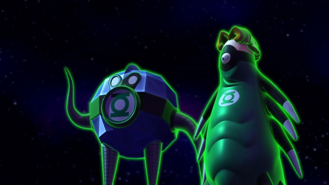 series review green lantern the animated series rising